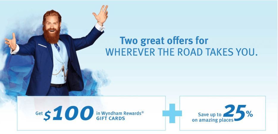 Wyndham Rewards Gift Cards Discount