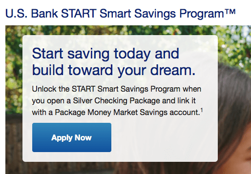US Bank START Smart Savings Program