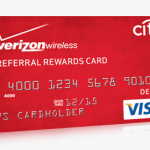 Verizon Wireless Friends Family Referral Rewards Card