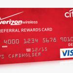 Verizon Wireless Friends Family Referral Rewards Card