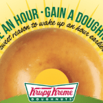 Krispy Kreme Free Doughnut Daylight Savings