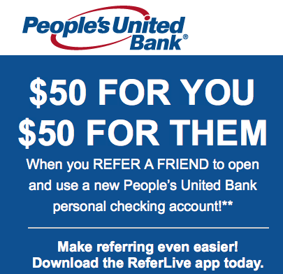 Peoples United Bank Referral Program
