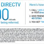 DIRECTV Referral Program $100 Bonus Promotion – New Online Link for Referrals Available