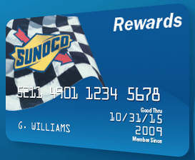 Sunoco Gas Rewards Credit Card