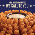Outback Steakhouse Veterans Day Free Bloomin' Onion and Coca-Cola November 11th