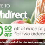 FreshDirect Refer A Friend $25 Credit and $50 Discount for Grocery Home Delivery Services