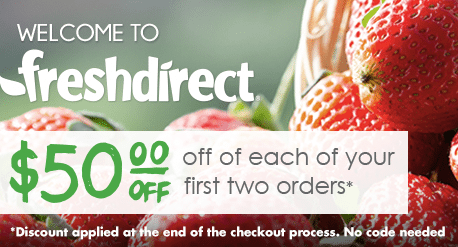 FreshDirect Referral Program Discount Promotional Code