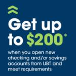 Union Bank Trust Checking Savings Promotion