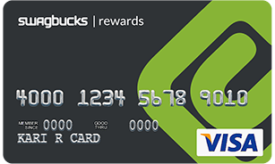 Swagbucks Visa Rewards Card