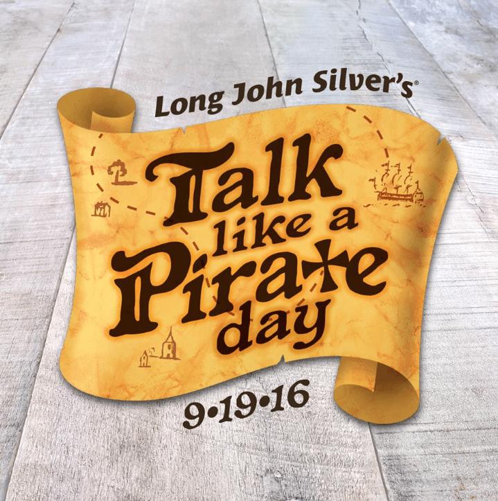 Long John Silvers Talk Like a Pirate Day