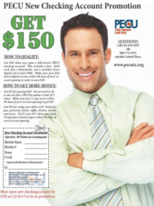 Public Employees Credit Union Checking Account Bonus
