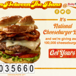 Ruby Tuesday Free Cheeseburger Giveaway