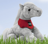 Wells Fargo Plush Pony