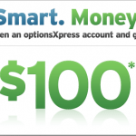 OptionsXpress Online Broker $100 New Account Bonus