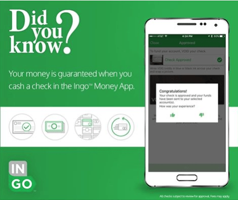 Ingo Money Check Cashing App