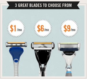 Dollar Shave Club Blade Options