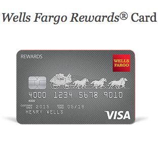Wells Fargo Rewards Card