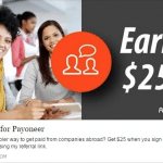 Payoneer Global Payment Service $25 Referral Bonuses