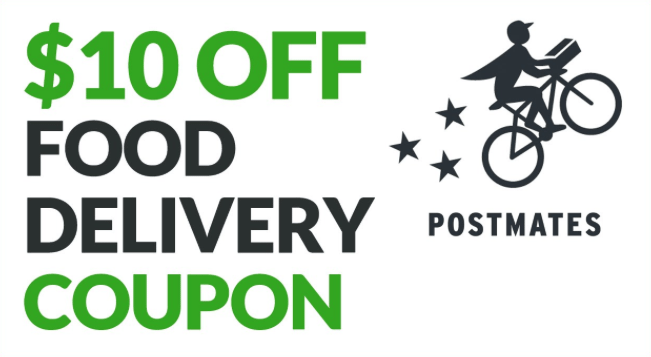 Postmates Food Delivery Coupon Code