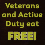 Free Veterans Day Promotions for Military Members in 2016