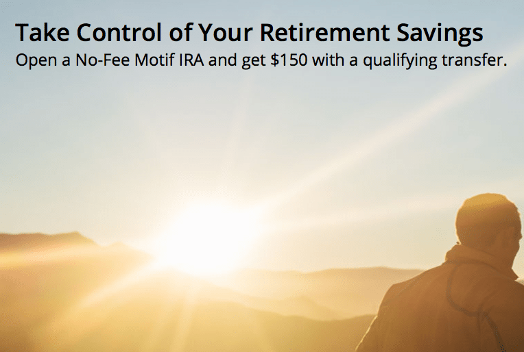 Motif Investing Retirement Savings Bonus