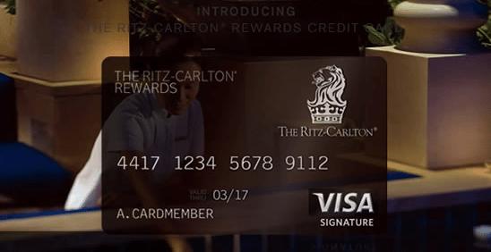Ritz Carlton Rewards Credit Card