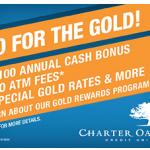 Charter Oak Credit Union Gold Rewards Program
