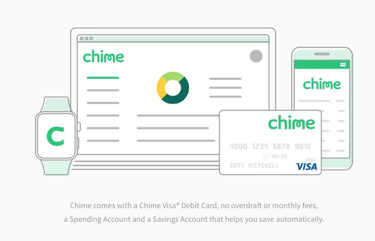 Chime Bank Debit Card