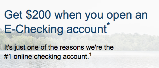 Nationwide Bank 200 EChecking Account Bonus