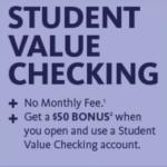 Santander Bank Student Value Checking Account Bonus