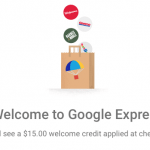 Google Shopping Express Free Trial and $15 Referral Discount