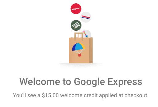 Google Shopping Express Discount Coupon