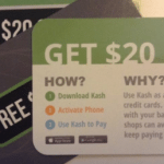 Kash Payment App $20 Bonus for First-Time Users