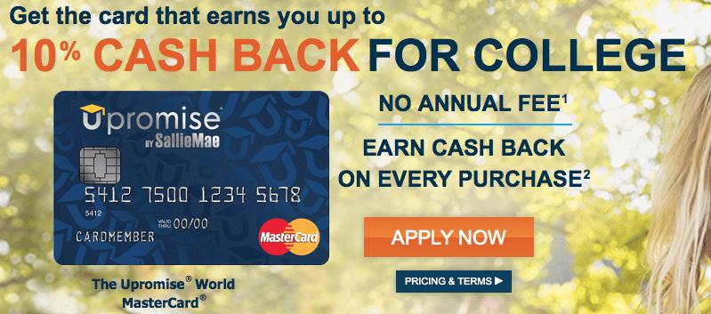 Upromise World MasterCard Barclaycard