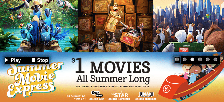 Regal Summer Movie Express