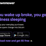 Lawnmower App Converts Your Spare Change into Bitcoin – Plus $5 Sign-Up Bonus