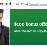 Wells Fargo Checking Account $100 Bonus Offer