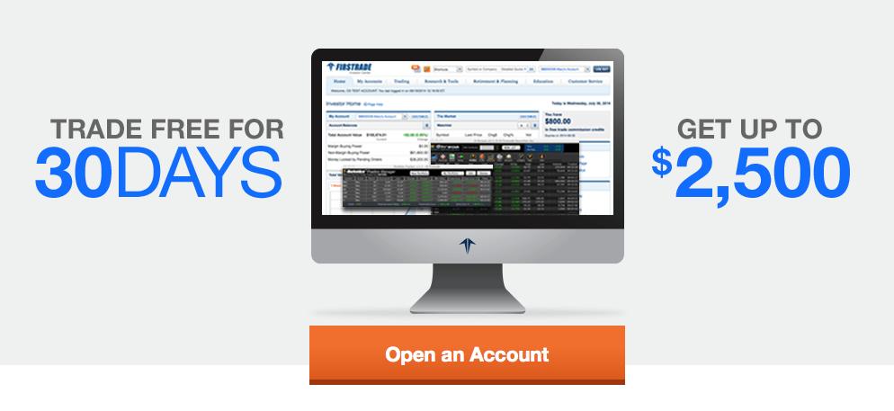 Firstrade Brokerage Account Bonus Free Trades