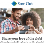 Sams Club 20 Referral Bonus Program