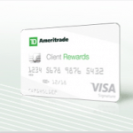 TD Ameritrade Client Rewards Credit Card $100 Bonus from TD Bank