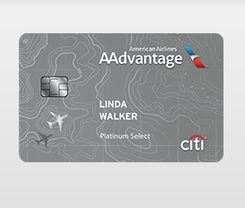Citi AAdvantage Platinum Select World MasterCard
