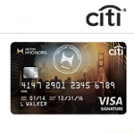 Citi Hilton HHonors Visa Signature Card 75,000 Bonus Points