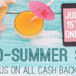 TopCashback Bonus On All Purchases MidSummer Sizzle