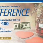 USX Federal Credit Union Checking Account Bonus