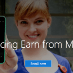 Earn by Microsoft Cash Back Shopping Program $10 Sign-Up Bonus and $5 Referral Credits