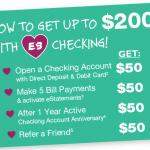 Easthampton Savings Bank $150 Checking Bonus and $50 Referrals