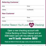 Easthampton Savings Bank Refer A Friend Program