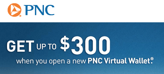PNC Bank Virtual Wallet Checking Account Bonus