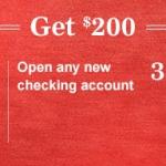 Synovus Bank $200 Checking Account Bonus in AL, FL, GA, SC and TN