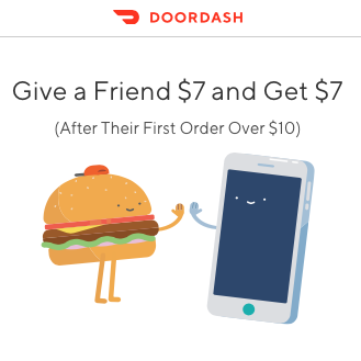 DoorDash Food Delivery Service $20 Discount and $20 Referral